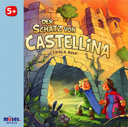 Der Schatz von Castellina, the author's favorite: an elegant and catchy game.