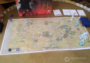 The Hunt for the Ring prototype played at GiocoForza.