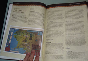 One of the hardbound volumes is the Companion, a super-detailed strategy guide accompanying the rules.