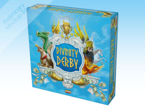 Divinity Derby, a racing and betting game, soon on Kickstarter.