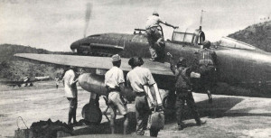 A Yokosuka D4Y1 used as reconnaissance aircraft, in 1943.