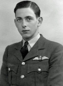 Aubrey Baker, pilot of one of the Spitfires in the Battle of Britain Starter Set.