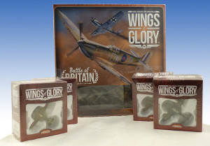The Battle of Britain Starter Set and the four Squadron Packs.
