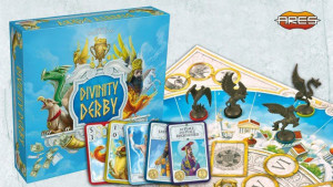Divinity Derby, a racing and betting game, now on Kickstarter.