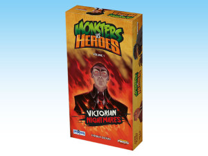 Monsters vs. Heroes - Victorian Nightmares, a thrilling card game.