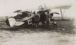 Nieuport 17 piloted by Rene Dorme during the battle of the Somme.*
