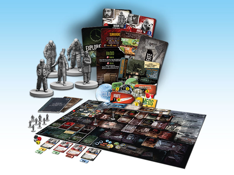 En Twm01 This War Of Mine The Board Game 171 Ares Games