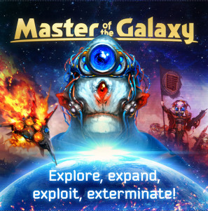 Master of the Galaxy: a 4X board game of galactic conquest.