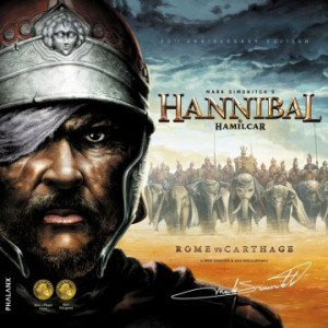 Hannibal & Hamilcar - Rome vs. Carthage: one of the best two-player games ever published.