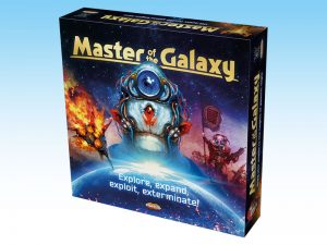 Master of the Galaxy: a 4Х board game of galactic expansion.
