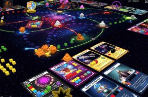 Master of the Galaxy: screenshot of digital version of the game on Tabletopia.