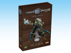 Victoria Hero Pack: a new character in S&S.