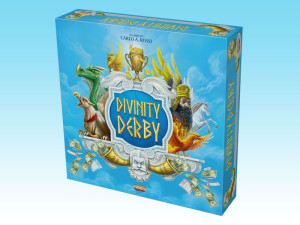 Divinity Derby: a crazy race of mythic flying creatures on Mount Olympus.