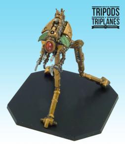 "Tripods & Triplanes: the Tripod Mk.I ""Locust""."