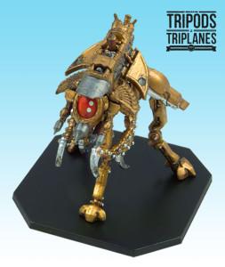 "Tripods & Triplanes: the Tripod Mk.II ""Scarab""."