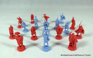 Some of the figures featured in Hannibal & Hamilcar.