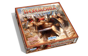 The epic, ancient-Greece themed game Hexemonia.