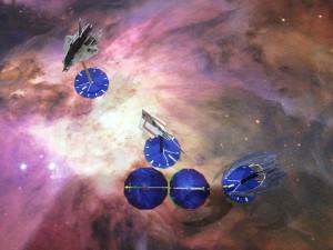 Battlestar Galactica – Starship Battles: playtest.