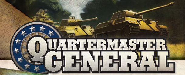 WW2 Quartermaster General 2nd Edition now online « Ares Games