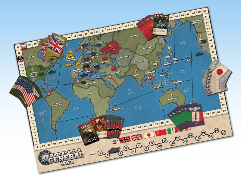 ARTG006 – WW2 Quartermaster General – 2nd Edition « Ares Games