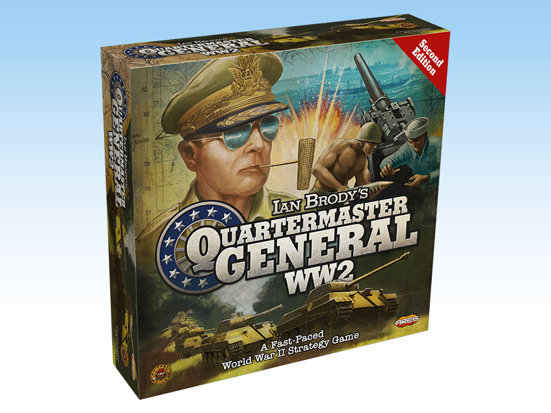 Quartermaster General: WW2 - 2nd Edition -  Ares Games