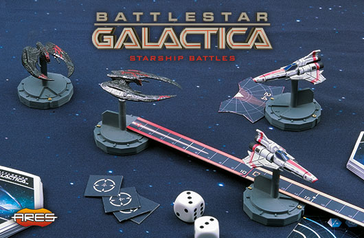 Spaceship Pack Viper MK II Expansion Battlestar Galactica Starship Battles