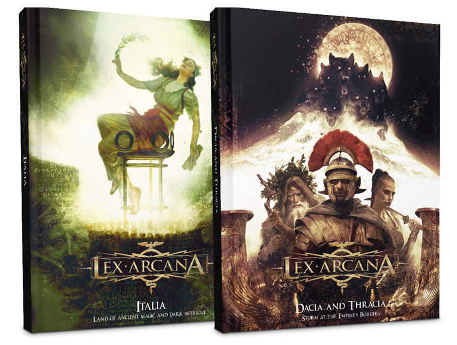 Lex Arcana RPG returns to Kickstarter with two new titles « Ares Games